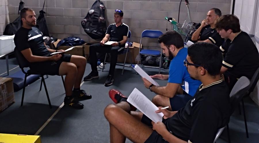 Formación a Técnicos en Escuela de Fútbol CampusEsport